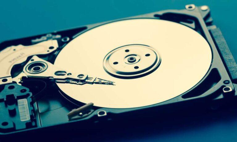 机械硬盘内部