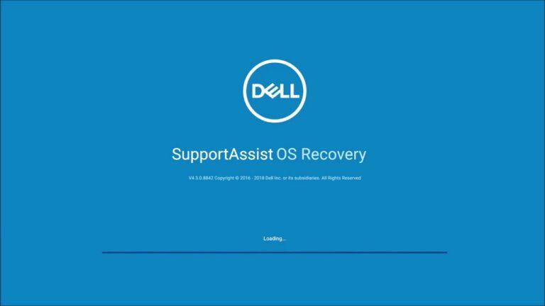 戴尔 SupportAssist OS Recovery