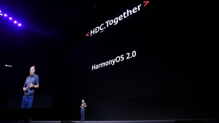华为发布鸿蒙系统2.0