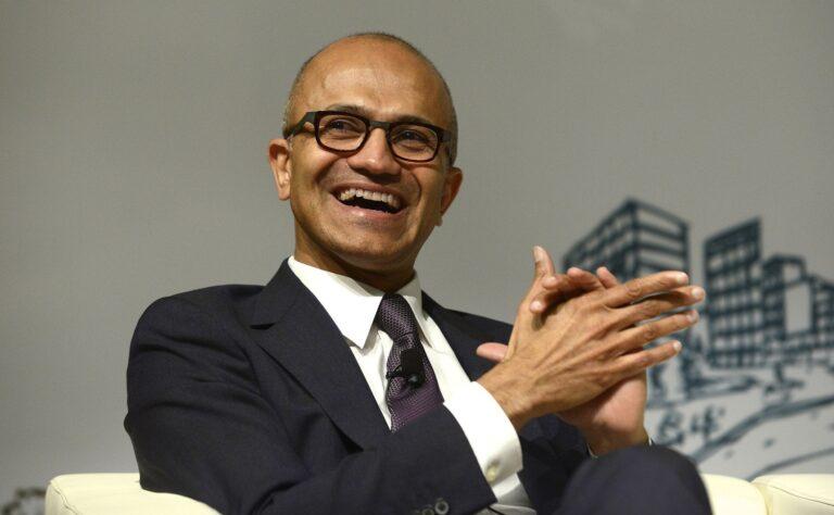 微软CEO纳德拉