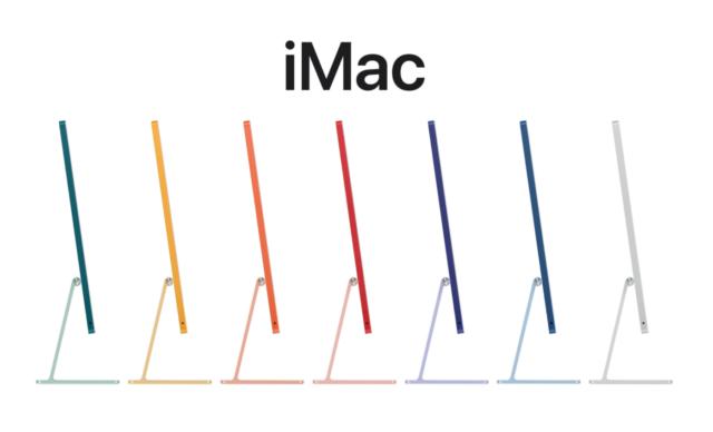 M1芯片版 iMac